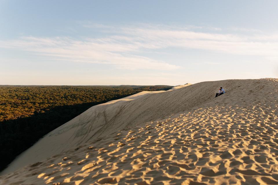 séance photo dune du pilat